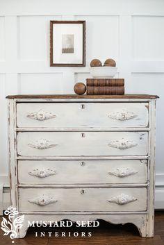 1800's Linen Dresser - Miss Mustard Seed