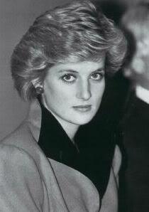 princess diana 1984 photo: Princess Diana Diana-In-Black--White133.jpg