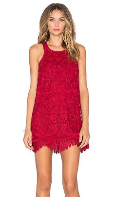 Lovers + Friends x REVOLVE Caspian Shift Dress in Merlot | REVOLVE