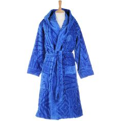 Roberto Cavalli Zebrona Hooded Bathrobe - 104 and other apparel, accessories and trends. Browse and shop 1 related looks.