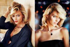Anja Rubik & Sasha Knezevic for Apart Jewelry Ads