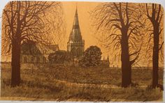 Chichester Print by Robert Tavener