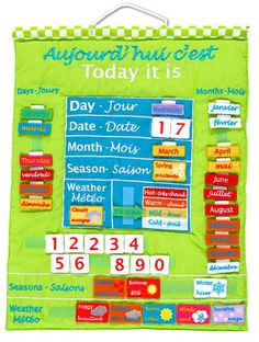 Bilingual Calendar