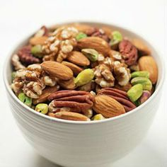 """Lisa Cianfrini, a nutrition specialist at Brescia College says nuts are """"definitely a superfood.""""  Read more: http://london.ctvnews.ca/daily-dose-of-nuts-good-for-health-study-1.1552593#ixzz2qWIiQtuB"""