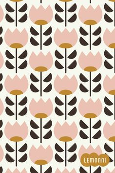 Tulip pattern designed inspired by the spring. Tulip pattern designed inspired by the spring. Graphic Patterns, Textile Patterns, Textile Design, Print Patterns, Surface Pattern Design, Pattern Art, Geometric Pattern Design, Print Texture, Chalk Marker