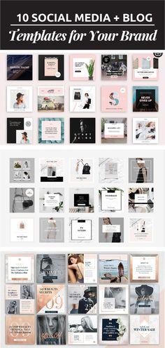 Para presentar tu marca en las redes sociales necesitas coherencia visual. Por eso necesitas plantillas para redes. ¡Lee más para saber como crearlas!