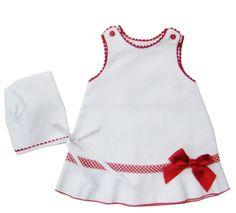 Vestido para niña con capota - cisne blanco moda infantil
