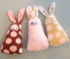 DIY Sweet Bunny pattern and instructions for easter.