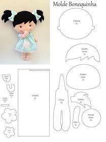 Freunderlwirtschaft Little Doll weißes Pferd - - Animal Drawing, Felt Doll Patterns, Stuffed Toys Patterns, Bjd Doll, Bratz Doll, Dolls Dolls, Sewing Dolls, Felt Diy, Soft Dolls, Doll Crafts