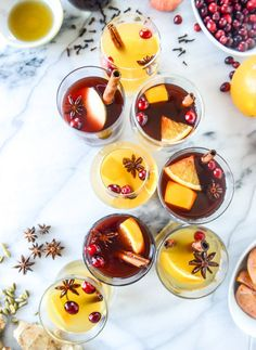 mulled wine, two way