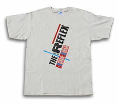 In honor of The Reflex turning 30, a reissue of this shirt. images/products/front/white_reflexlogo_regular.jpg