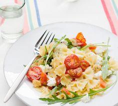 Lentesalade met geroosterde cherry trostomaatjes - Recept - Jumbo Supermarkten