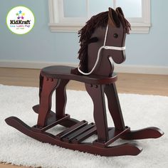 Derby Rocking Horse in Cherry