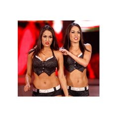 WWE Divas | WWE Superstars ❤ liked on Polyvore featuring wwe and the bella twins