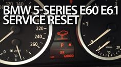 How to #reset #service reminder in #BMW #E60 #E61 5-Series inspection #maintenance #cars #diy #tutorial