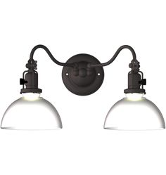 Fords Mill Double 2 1/4in Sconce Classic Swing-Arm Wall Sconce A0670