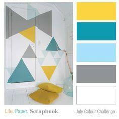Life. Paper. Scrapbook. : July 2013 colour challenge