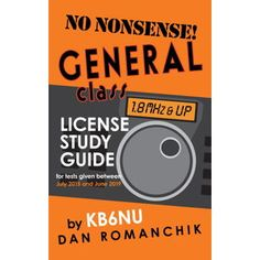 The No-Nonsense series of amateur radio license study guides has become famous for helping people pass the tests. Written in a simple, easy-to-understand style, this study guide will help you upgrade to General Class in no time. This study guide covers every single question that you'll find on the test and includes the following chapters: …