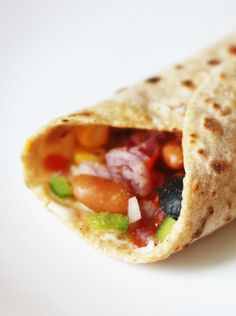 This Red Kidney Bean Burrito is totally kid friendly!!  whatscookingmom.in