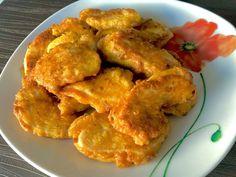 Pyszne kotleciki Szu Szu - Blog z apetytem Snack Recipes, Cooking Recipes, Snacks, Kfc, Chicken Wings, Cauliflower, Shrimp, Good Food, Food And Drink