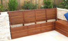 Outdoor storage bench seat can be used as additional seats when there are friends and family over to hang out. In the outdoor storage bench seats give some Garden Seating, Outdoor Seating, Garden Bench Seat, Balcony Bench, Outdoor Box, Diy Storage Bench Seat, Diy Bench, Wall Bench, Cubby Storage