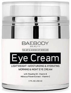 Buy Baebody Retinol Moisturizer Cream for Face and Eye Area. With Retinol Hyaluronic Acid Vitamin E. Anti Aging Formula Reduces Look of Wrinkles Fine Lines. Best Day and Night Cream. Anti Aging Cream, Anti Aging Skin Care, Vitamin E, Skin Care Routine For 20s, Skincare Routine, Les Rides, Eye Gel, L'oréal Paris, Jojoba Oil