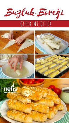 Turkish Recipes, Italian Recipes, Pie Recipes, Lunch Recipes, Turkish Sweets, Turkish Breakfast, Turkish Kitchen, Fresh Fruits And Vegetables, Middle Eastern Recipes