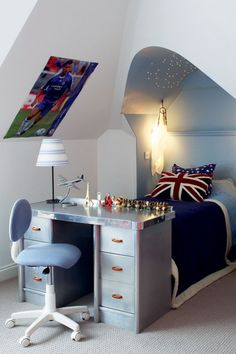 Alcove Bed with LED Star Lights - Kids Bedroom Ideas & Designs (houseandgarden.co.uk) / Get started on liberating your interior design at Decoraid (decoraid.com)