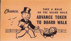 Monopoly Chance Card