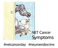 NET Cancer symptoms.  The symptoms of NET cancers can vary, depending on the location and biological properties.  Very often, the symptoms are similar to other, more common conditions. Early symptoms may include vague tiredness or digestive complaints, or there may be no symptoms at all. http://incalliance.org/symptoms/