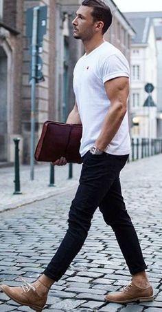 Casual Outfit Ideas For Men #mensfashion #fashion #style #fallfashion #streetstyle