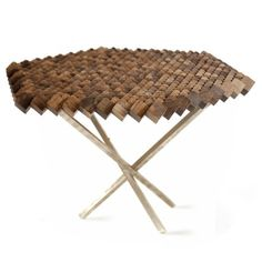 Hercules, smoked oak table from The Fundamental Group on mydeco.com £800 - Stunning!!