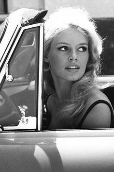 """"""" Brigitte Bardot at La Victorine studios in Nice, 1959 """""""