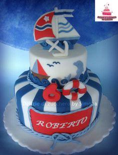 Sailboat cake - Cake by Delizie di zucchero by Simona