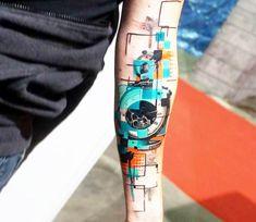Pocket Watch tattoo by Dynoz Art Attack
