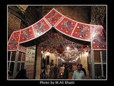 Lohari Gate Lahore Decorated on 12 Rabi-ul-Awwal Sharif