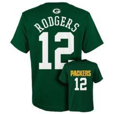 Boys+8-20+Green+Bay+Packers+Aaron+Rodgers+Tee
