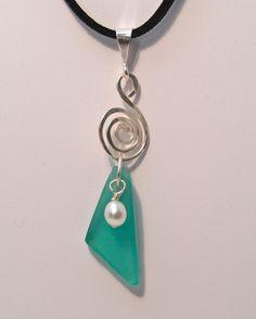 Beach Glass Necklaces p2 - Beach Inspirations Jewelry by Cheryl Ann