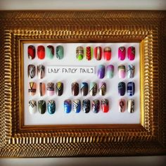 The Menu  Follow LFN on Instagram @ladyfancynails
