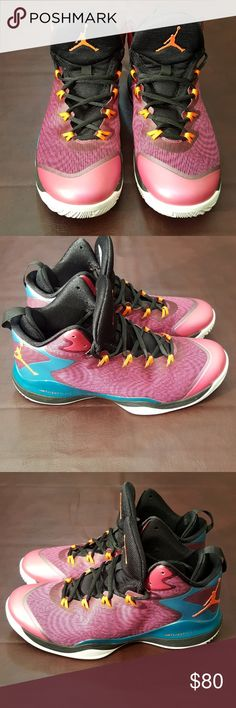 Air Jordan Super Fly 3 Basketball Shoes Barely used Air Jordan Super Fly 3  Basketball Shoes fe529a9a5