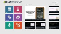 Khan Academy // Our Windows 8 app is the best way to view Khan Academy's complete library of over 4,400 videos on your Windows 8 device. We cover a massive number of topics, including K-12 math, science topics such as biology, chemistry, and physics, and even the humanities with tutorials on finance and history.