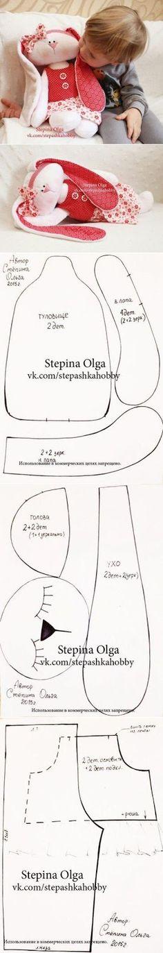 Moldes de bichinhos para imprimir em feltro e tecido - Molde para imprimir