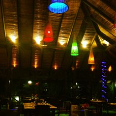 Restaurant @ Rio Celeste Hideaway Hotel in Rio Celeste, Costa Rica