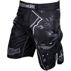 Pride or Die Stand Strong Fight Short - Black