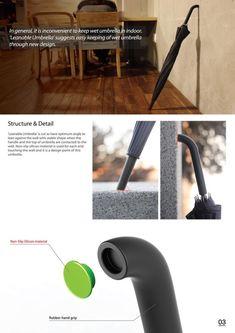 Leanable Umbrella Design