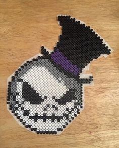 Jack Skellington perler beads by fasho_nicole
