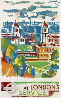 London Transport Posters - Greenwich