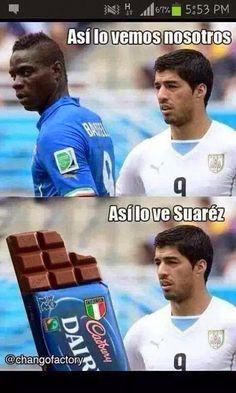 Así ve Luis Suárez a Balotelli Soccer Memes, Soccer Quotes, Football Memes, King Sport, Mexican Problems, Mexican Humor, Spanish Humor, Spanish Quotes, E Cards