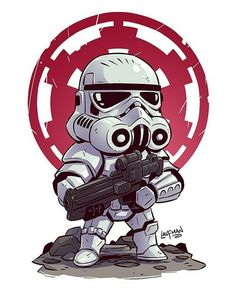 Image result for stormtrooper chibi