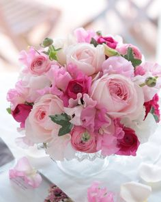 Ideas For Birthday Flowers Bouquet Peonies Centerpieces Flowers Nature, Pretty Flowers, Pink Flowers, Beautiful Flower Arrangements, Floral Arrangements, Peonies Centerpiece, Color Rosa, Floral Bouquets, Beautiful Roses